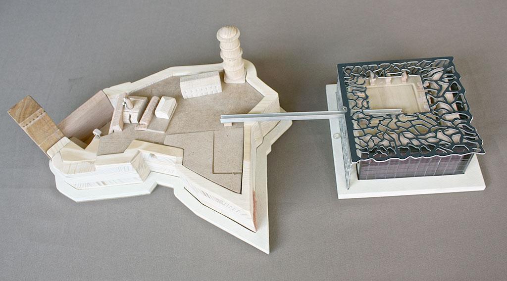MuCEM - Marseille, conception et réalisation de la maquette tactile et démontable du MuCEM