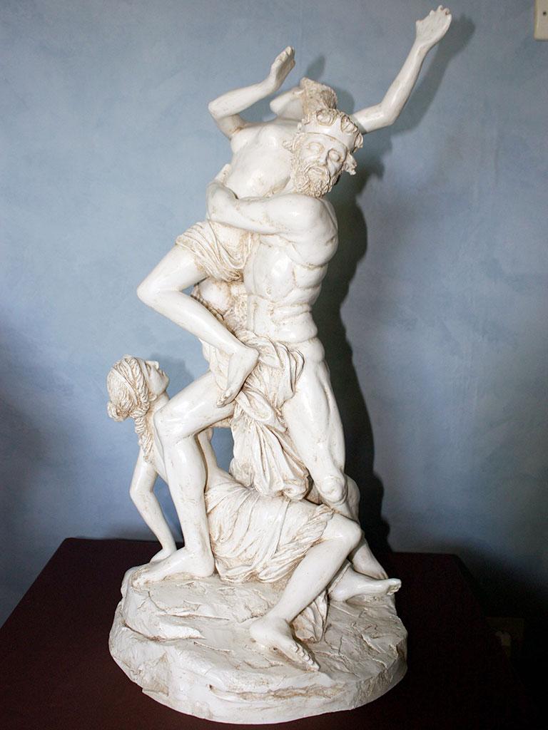 Sculpture tactile, Enlèvement de Proserpine par Pluton de Girardon
