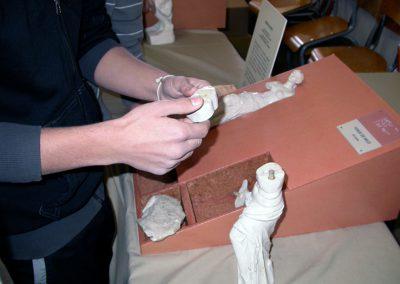Reproduction tactile et jeu de construction de la statue de « La Vénus de Milo »